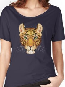 Leopard Face Women's Relaxed Fit T-Shirt