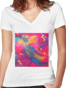 Revelry Women's Fitted V-Neck T-Shirt