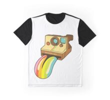 Polaroid Rainbow Graphic T-Shirt