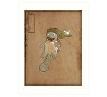 Hero Squirtle Art Print