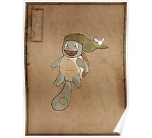 Hero Squirtle Poster