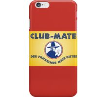 Club Mate iPhone Case/Skin