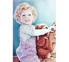 Rocking Horse and Teddy Photographic Print