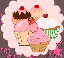 Cup Cakes (3876  Views) by aldona