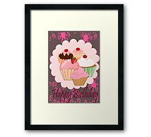 Cup Cakes (4017  Views) Framed Print