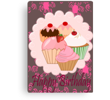Cup Cakes (3727 Views) Canvas Print
