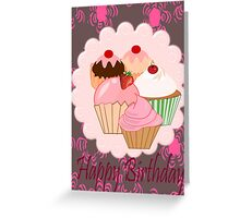 Cup Cakes (3876  Views) Greeting Card