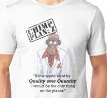 Xander - Chimp Plan: Z 'Quality Quote' Unisex T-Shirt