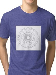 flower mandala Tri-blend T-Shirt