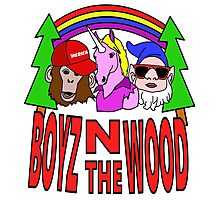 Boyz In The Wood Photographic Print