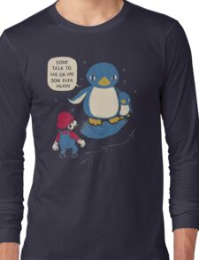 don't talk to me or my son ever again Long Sleeve T-Shirt