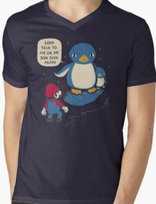 don't talk to me or my son ever again Mens V-Neck T-Shirt
