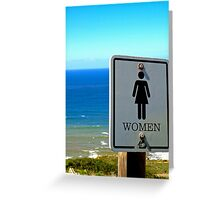 Women of Point Loma Greeting Card