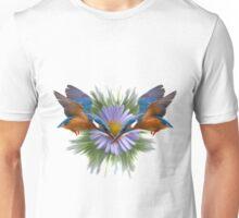Kingfisher diving Unisex T-Shirt