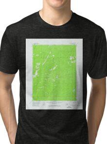 USGS TOPO Map Alaska AK Black River D-2 354657 1956 63360 Tri-blend T-Shirt