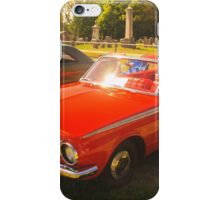 Plymouth Valiant Convertible iPhone Case/Skin