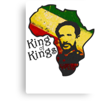 African King Canvas Print