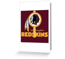 Washington Redskins NFC East Champions Greeting Card