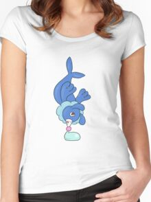 Popplio is poppin'! Women's Fitted Scoop T-Shirt