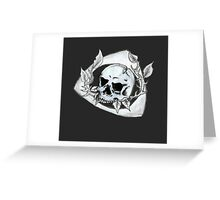 Mazda Rotary Skull Greeting Card