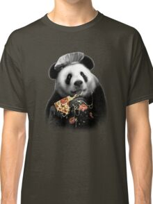 PANDA LOVES PIZZA Classic T-Shirt