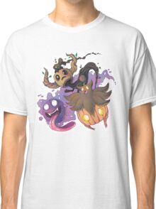 Ghost Type Spooktacular Classic T-Shirt