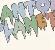 phantom planet Sticker
