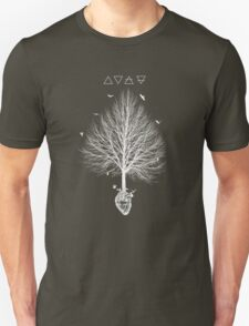 A tree feeding in the heart Unisex T-Shirt
