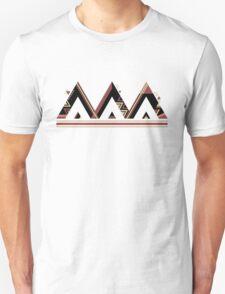Thai Geometric Digital Print Unisex T-Shirt