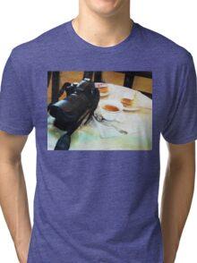 Photographers break in watercolor Tri-blend T-Shirt