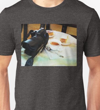 Photographers break in watercolor Unisex T-Shirt