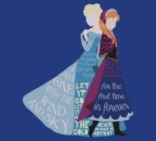 Elsa and Anna with Lyrics by jehnner