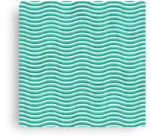 Seamless Grunge Waved Background Canvas Print