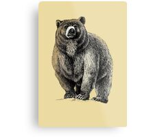 The Great Bear - A fierce protector Metal Print