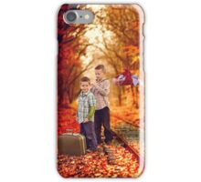 Going to Grandma's iPhone Case/Skin
