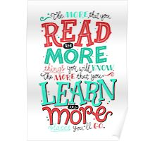 Read More Learn More Poster