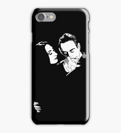 Gomez y Morticia iPhone Case/Skin