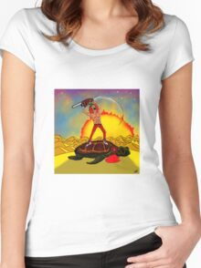 Turtle Slayer Women's Fitted Scoop T-Shirt