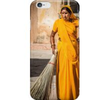 old  indian woman  iPhone Case/Skin