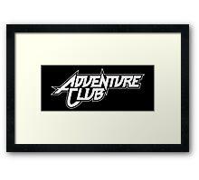 Adventure club Framed Print