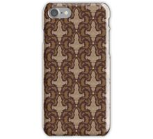 Leaf on the Wind Damask iPhone Case/Skin