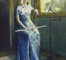 The Flautist by Lyn Fabian