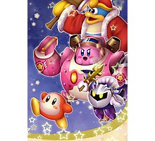 Kirby Robobot! Photographic Print
