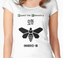 'Respect the Chemistry' - Breaking Bad (White) Women's Fitted Scoop T-Shirt