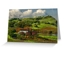 Napa Valley February Greeting Card