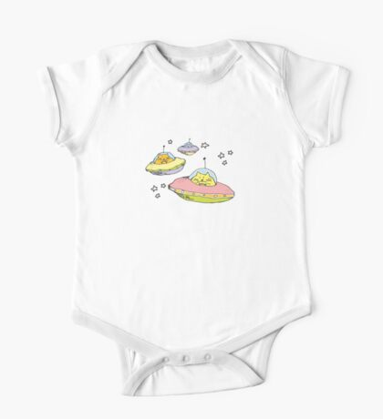 space cats One Piece - Short Sleeve