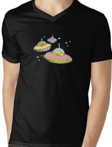 space cats Mens V-Neck T-Shirt