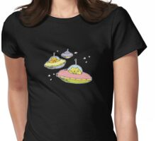 space cats Womens Fitted T-Shirt