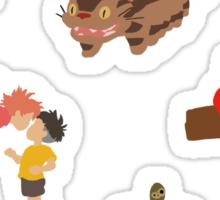 Mini Miyazaki 2 Sticker