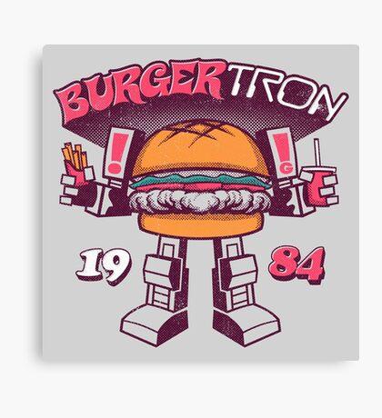 BurgerTRON Canvas Print